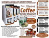 3 Hot Flavors of Coffee Vending Machine, Hot Selling in Asia Market
