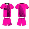 Custom Women Sublimation Soccer Uniform Jersey for Team