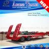 Double Axles Low Bed Semi Trailer Truck Trailer