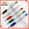 Plastic Multi Function Pen with Highlighter and Stylus (IP032)