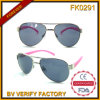 Fk0291 Pilot Sunglasses with Plastic Legs for Kid