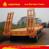 Truck Parts Trailer Semi-Trailer Foot Flatbed Trailer with High Quality