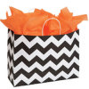 Large Classic Chevron Paper Shopper Packaging Bags