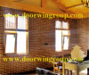 Solid Larch/Pine Wood Aluminum Glass Window for Frame House