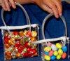 Three Assortment PVC Slider Bag for Gifts