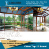 Aluminium Sun Room with Double Glazing and Alloy Structure