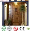 Solid Entrance Wood Door/Red Rich Timber Door/ Wooden Door for Villa
