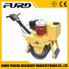New Manual Single Drum Vibration Road Roller