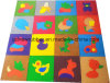 Animal Pattern Children Playground Softy Rubber Tile