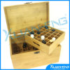 Bamboo Nail Polish Storage Box with Cover