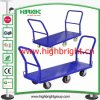 Six Wheels Collapsible Warehouse U Boat Cart