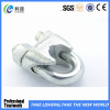 Factory DIN 741 Galv Malleable Iron Wire Rope Clips