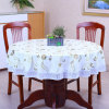 Custom Printed Lace Table Cloth Floral Table Linen