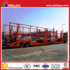 2axles Cars Transporter Semi Trailer for 6-10 Cars Loading