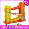 New Design 3 Levels Kids Cartoon Wooden Toy Race Track W04e051