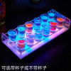 Customized LED Acrylic Wine Display Acrylic LED Bottle Display Stand