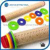 Removable Rings Beech Wood Adjustable Rolling Pin
