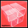 Lab Research Fused Clear Square Quartz Glass Tubing