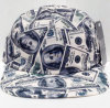 2016 Cash Money All Over Print 5 Panel Camper Cap