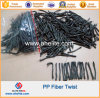 Cement PP Twist Fiber Twisted Bundle Macrofiber for Concrete