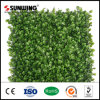 Cheap PVC Plastic Leaf Fence Artificial Hedge for Garden Decoration