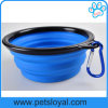 Manufacturer Silicone Pet Feeder Collapsible Travel Bowl Dog