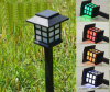 Factory Direct Solar Outdoor Plastic Lawn Lamp Solar Energy Lamp Mini Small Chinese Lanterns