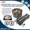 Pneumatic Double Heads Paste Filling Machine for Shoe Polish (G2WGD500)