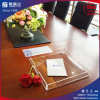 Clear Rectangle Lucite Serving Tray