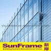 Aluminium Stick System Curtain Wall in Glasses