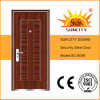 Low Price Single Used Exterior Iron Doors (SC-S056)