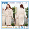 Women′s Resort / SPA Style Terry Robe for Women Full Length with Rolled Cuffs