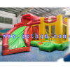 PVC Tarpaulin Outdoor and Indoor Inflatable Bouncer Castle with Slide