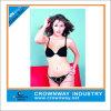 Promotional Lady Black Bikini with Metal Trims