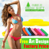 Fashion Embossed Custom Silicone Bracelet for Events Free Sample Silicon
