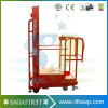 Foot Panel Control Electric Vertical Welding Lift Platform Aerial Oderpicker