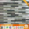 Hotel Counter Back Wall Marble and Glass Mosaic (M857004)