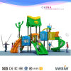 Children Outdoor Playground Big Plastic Slides for Sale 2-14years