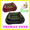 Bone Printed Style Dog Cat Pet Beds (WY161054-3A/B)