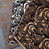 Upholstery Flock Sofa Fabric