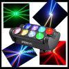 8PCS 10W RGBW Spider Light LED Moving Head