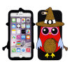 Customized Cute 3D Bird Silicone Cellphone/Mobile Case for iPhone 5/6/6p