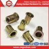 Zinc-Plated Flat Head Rivet Nut