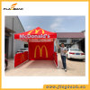 3*3m Pop up Canopy Tent with Optional Side Skirts and Backwall