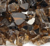 Fireplace Glass - Copper Reflective 1/2 Inch