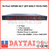 1u Cassette Type Dual Power Supply 16 Port Optical Line Terminal Gpon Olt