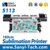 1.8m Wj-740 Digital Textile Printer with Epson Dx7 Head