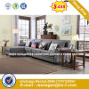 Italy Design Classic Wooden Office Furniture Leather Office Sofa (HX-SN8080)