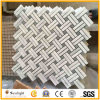 China White Carrara Marble Stone Pattern Mosaic