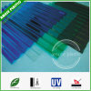 Colored Light Weight Greenhouse Roofing PC Corrugated Polycarbonate Sheets